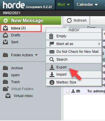 horde-export-email-folder
