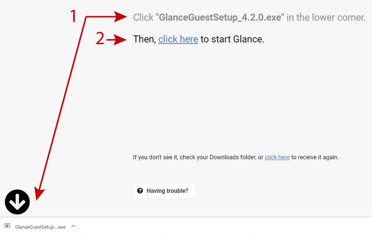 Glance download