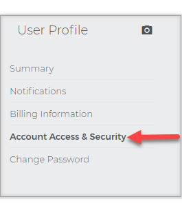 Account Access and Security