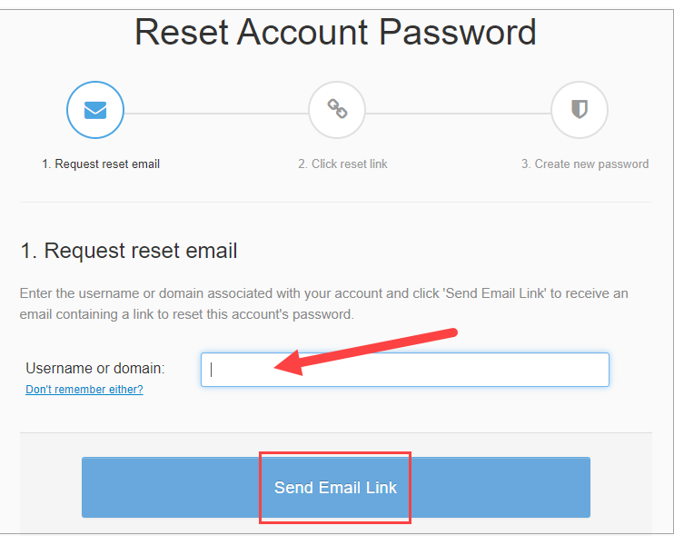Send Email Link