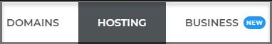 Hosting dashboard