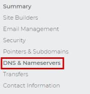 DNS & Nameservers