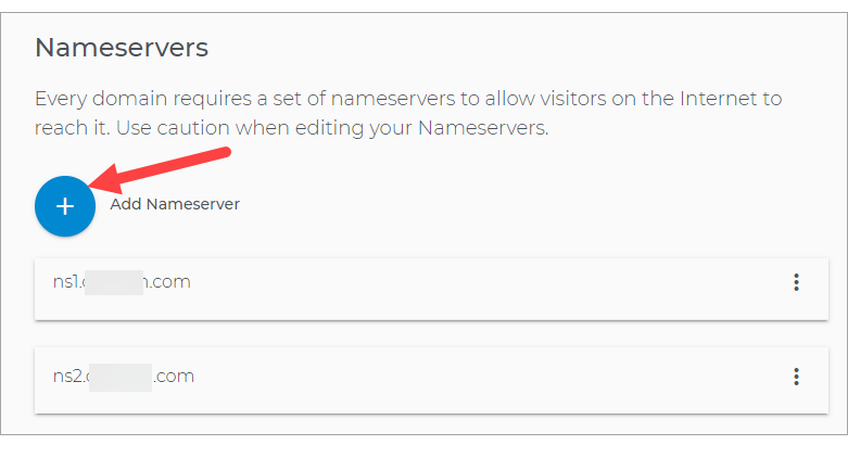 Add Nameserver