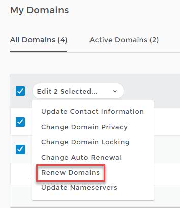 ipage domain renewal