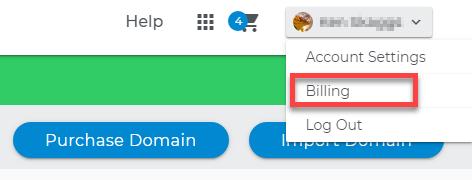 Change billing info