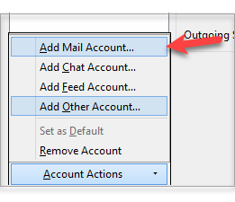 Add Mail Account