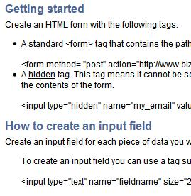 Getting started with your forms