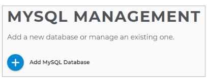 Add MySQL Database