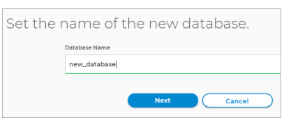 Name your database
