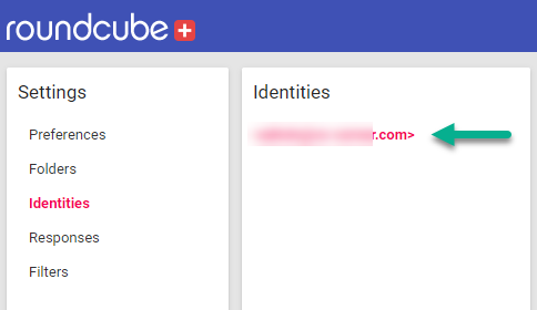 Identities select