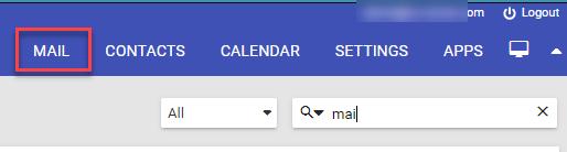 Mail menus