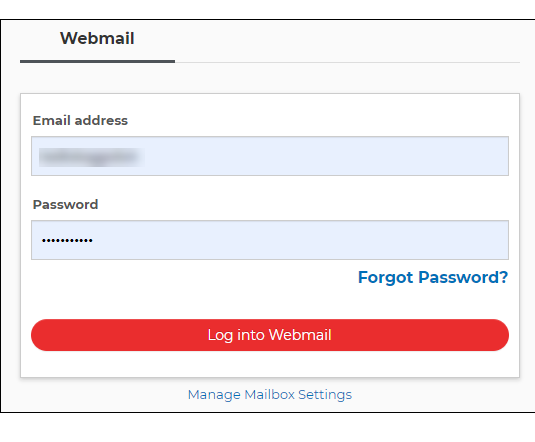 Login to your webmail account