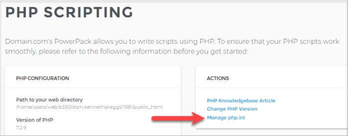 PHP Scripting
