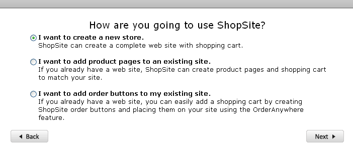 Integrate ShopSite with your website