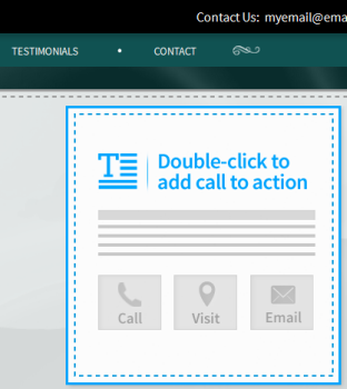double-click the call to action form