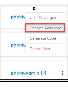 Select Change Password