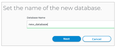 Name the database