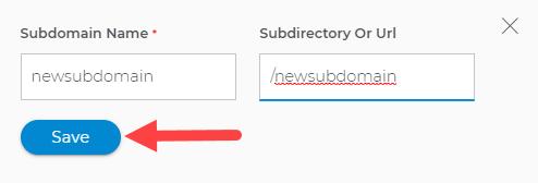 Subdomain specifics