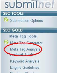 Add Meta Tags