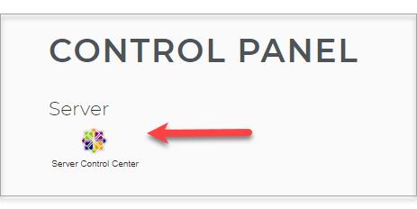 Server Control Center