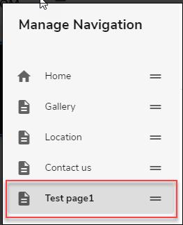 Navigation List