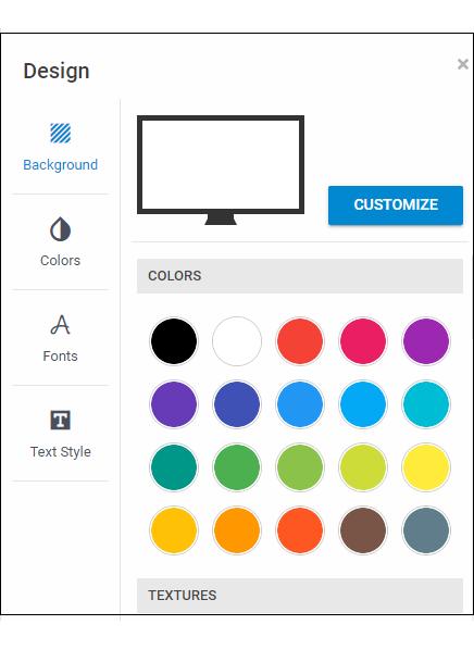 Design applet