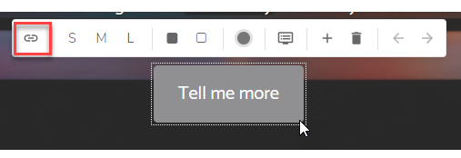 Add link button