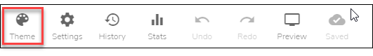 Theme tab