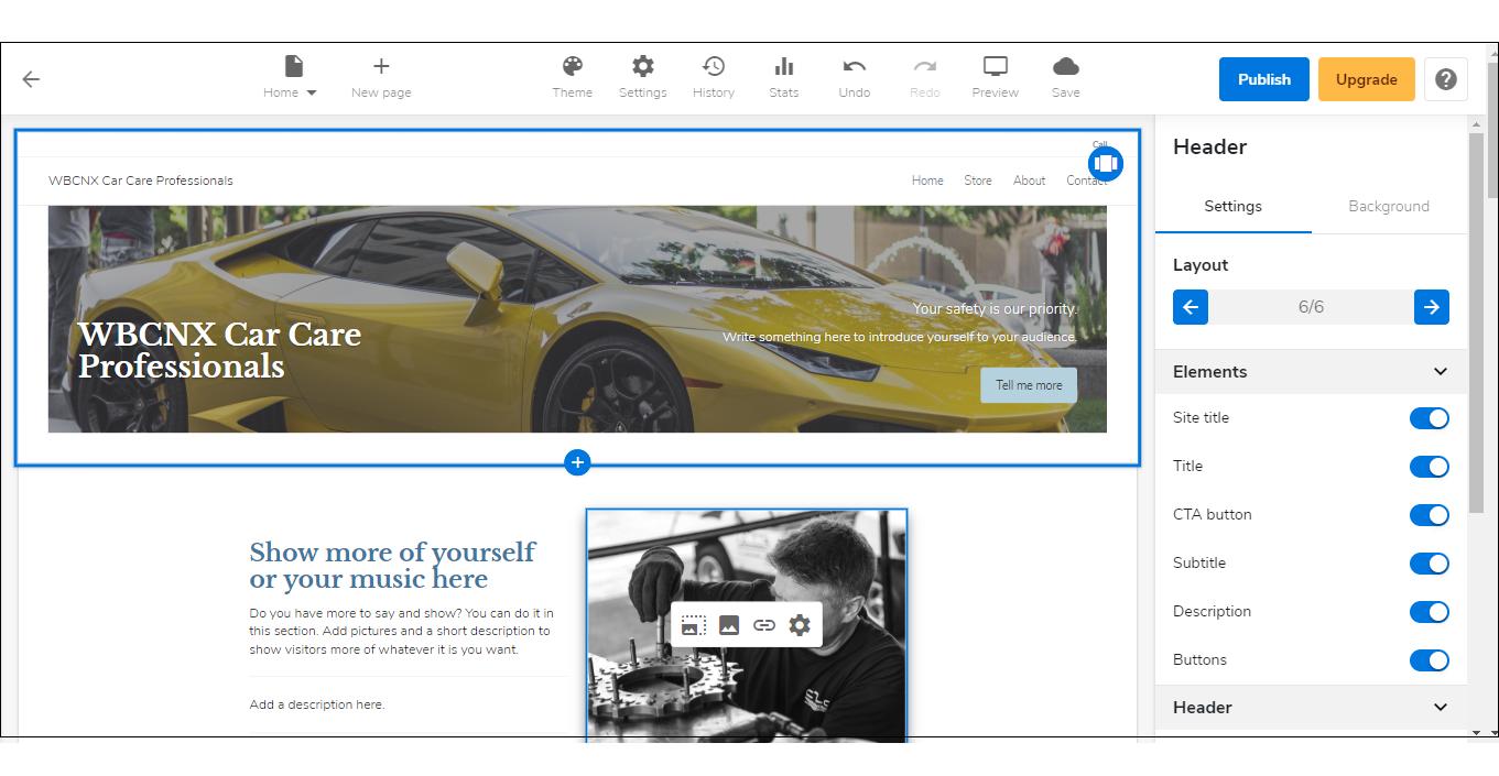 WebsiteBuilder Express